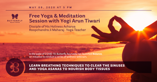 Yoga and Meditation With Yogi Arun
