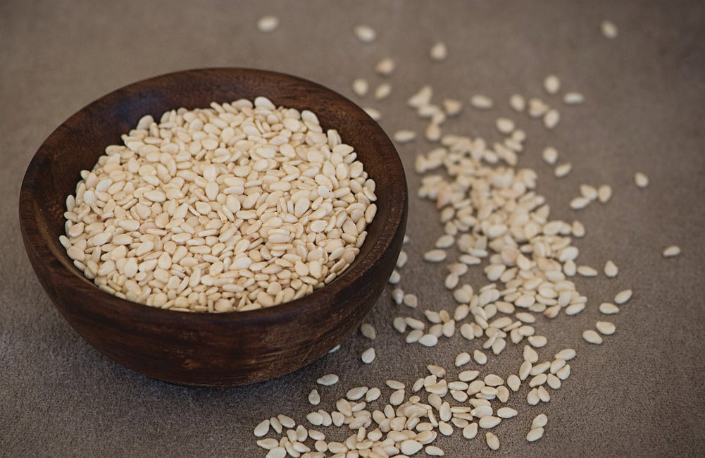 Good thing in a small package: Sesame seeds