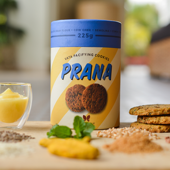 Prana - Vata Pacifying Cookies,cookies for weight gain, cookies for skin, cookies for indigestion, cookies good for digestion, cookies for immunity & digestion, cookies for gas related problems,
