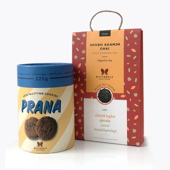Vata Pacifying Tea and Cookies combo pack