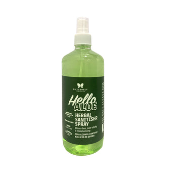 Hello Aloe Herbal Sanitiser Spray
