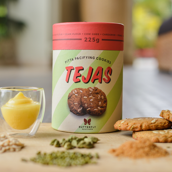 Tejas - Pitta Pacifying Cookies, Ayurvedic cookies, healthy cookies,  cookies for immunity,  healthy cookies,  Cookies for weight loss,
