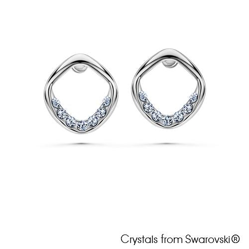 Holly Pure Rhodium Plated Earrings