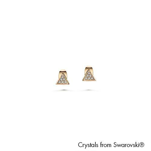 Angular Dual Clear Crystal 18K Gold Plated Lush Addiction Crystals from Swarovski