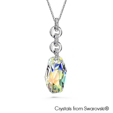 Elena Necklace Clear Crystal Lush Addiction Crystals from Swarovski