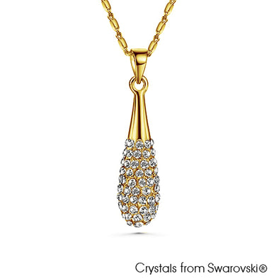 Galilea Necklace (18K Gold Plated) - Lush Addiction, Crystals from Swarovski®