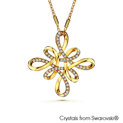 Mystic Knot Necklace (18K Gold Plated) - Lush Addiction