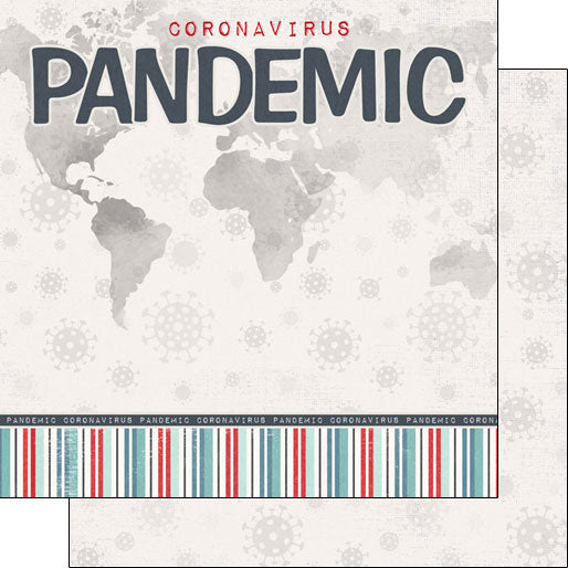 Covid-19 Pandemic Title 12x12 Paper