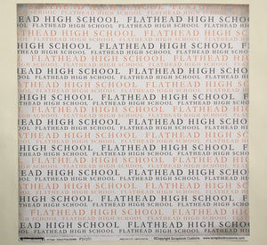 Flathead High School All Caps School Pride