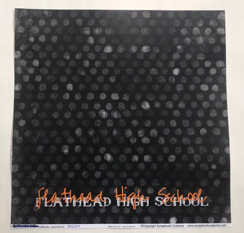 Flathead High School Graffiti Dots