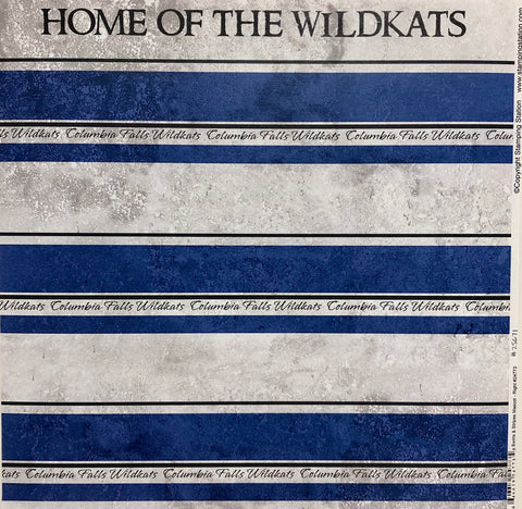 "Swirls & Stripes ""Wildkats"""