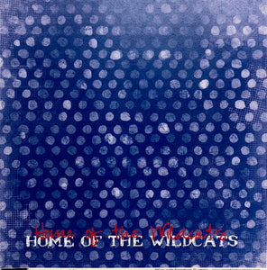 "Graffiti Dots ""Wildcats"""