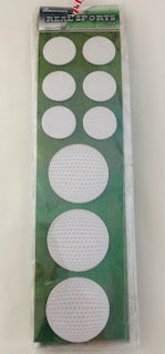 Real Sports Golf Ball Stickers