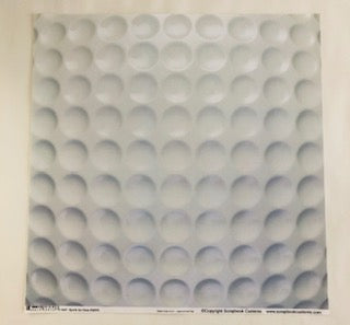 Sports Up Close Golf Ball Paper