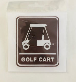 Golf Cart Diecut