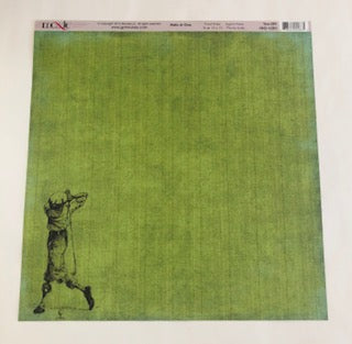 Tee Off Hole in One Golf Collection Paper