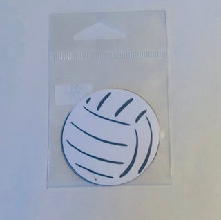 Small Volleyball Die Cut