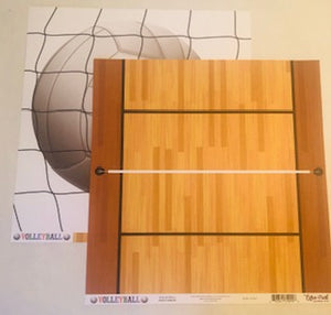 Volleyball Court Paper