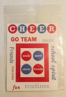 Cheer Frame Diecuts