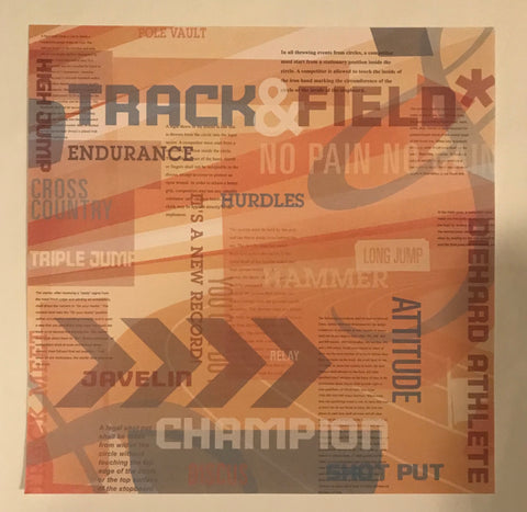 Track and Field Paper