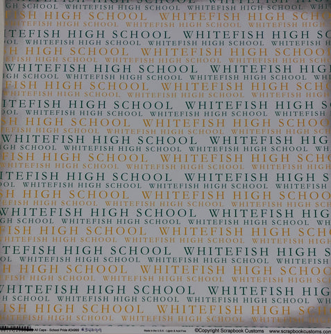 All Caps Whitefish High School