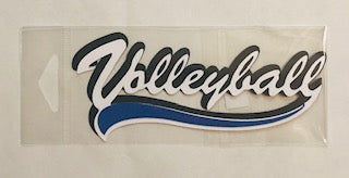 Volleyball Diecut