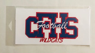 Columbia Falls High School Sports Diecut