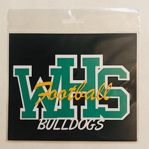 Whitefish High School Sports Initial Diecut
