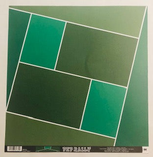 Green Patter Pep Rally Paper