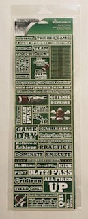 Real Sports Football Stickers