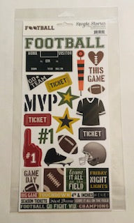 Friday Night Lights Football Stickers