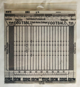 Football Transparency Paper