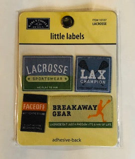 Little Lacrosse Labels