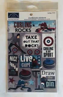Curling Stickers