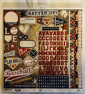 All Star Baseball Stickers