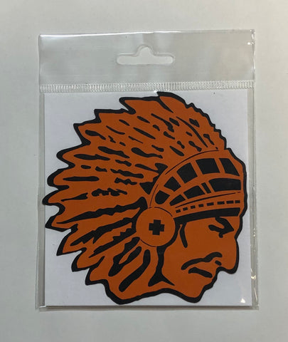 Flathead Brave Chief Head Cutout