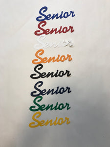 Senior Cardstock Die Cut