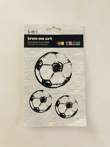 Soccer Ball Iron-Ons