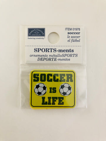 Sports-meets Soccer Sticker