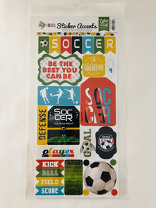 Soccer Sticker Accents