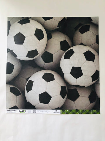 Soccer Balls All Star Paper