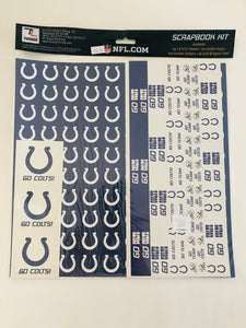 NFL Indianapolis Colts Scrapbook Kit