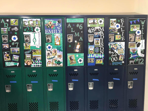 Glacier (GHS) Locker Poster Kit