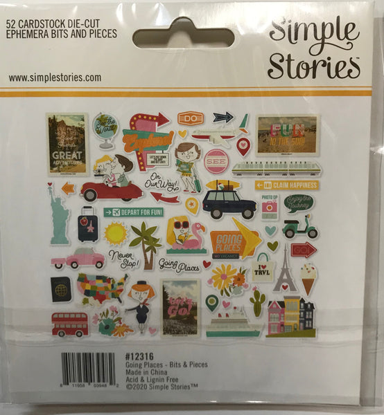 Simple Stories Going Places Album Class Kit