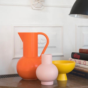 Raawii - Vaso grande color coral blush