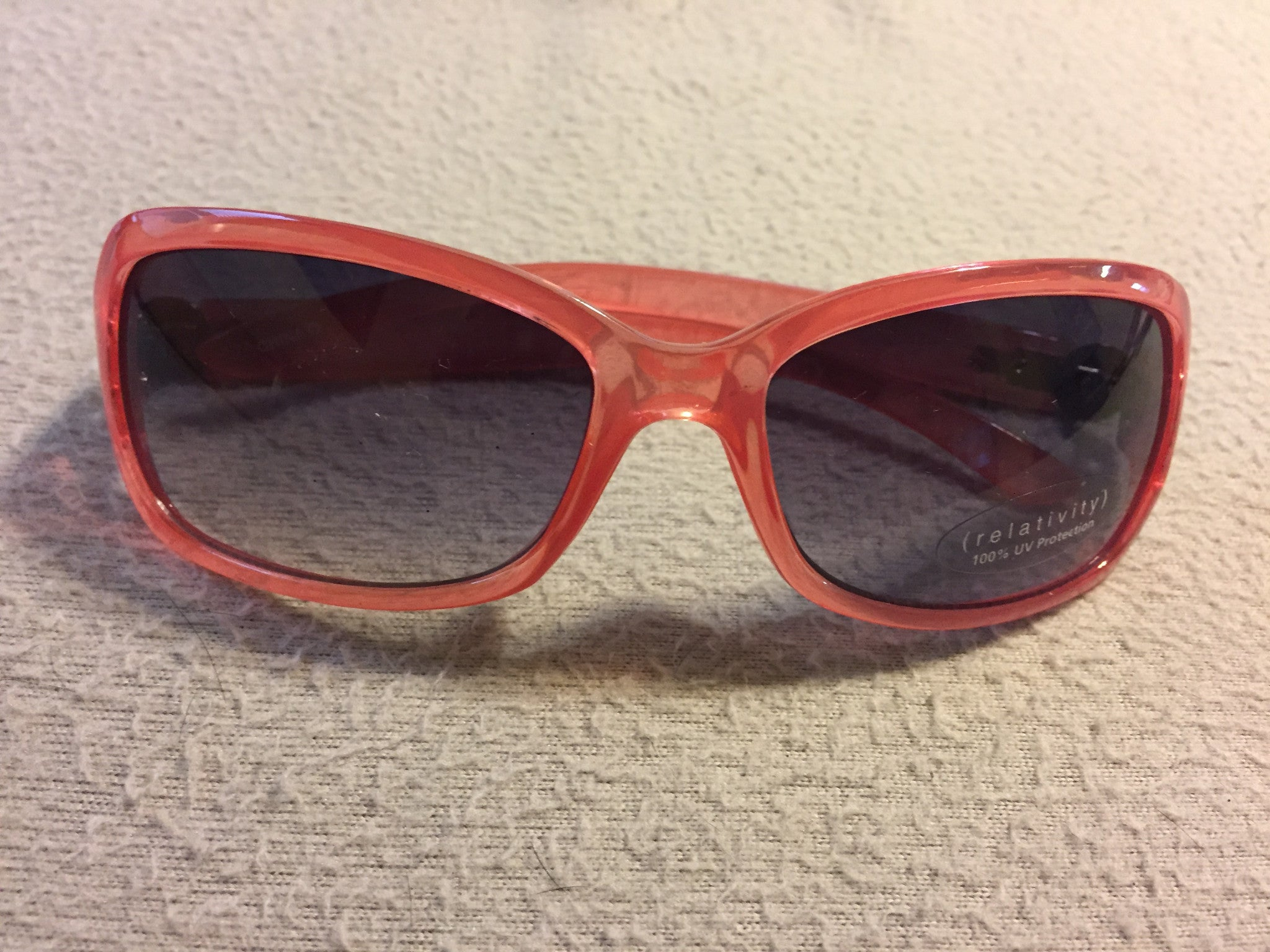 Relativity Pink Sunglasses 100% UV Protection