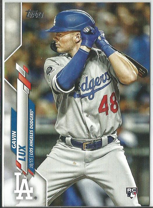 Gavin Lux 2020 Topps Complete Set Rookie Card #292 SP