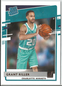 Grant Riller 2020-21 Panini Donruss Basketball Rated Rookie #250