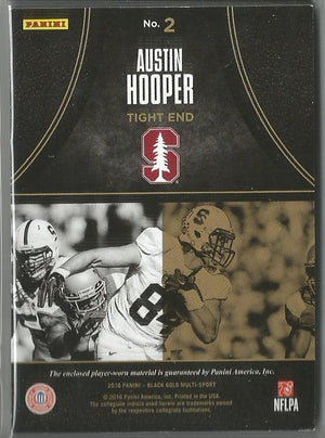 Austin Hooper 2016 Black Gold Massive Materials Rookie Relic Card 004/199 - jjb-hobby-crafts