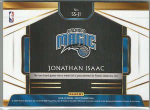Jonathan Isaac 2018-19 Select Swatches Relic SS-JI - jjb-hobby-crafts